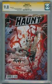 Haunt #2 Variant CGC 9.8 Signature Series Signed Ryan Ottley Image comic book
